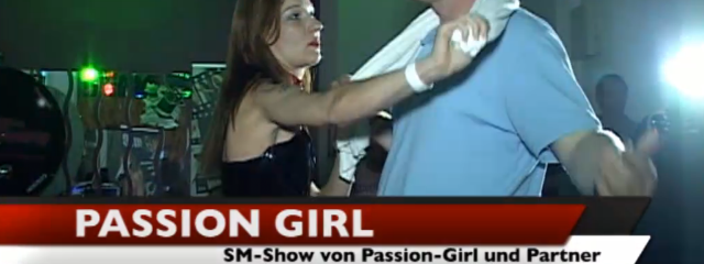 SM-Show mit Passion-Girl